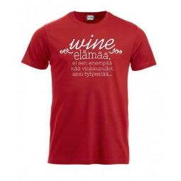 """T-paita """"WINE elämää"""""""