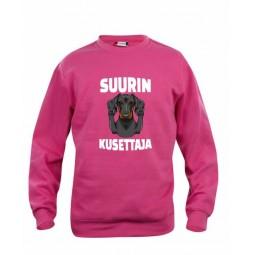 """""""SUURIN KUSETTAJA"""" sweatshirt"""
